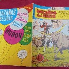 Tebeos: HAZAÑAS DEL OESTE. Nº 186. EDICIONES TORAY. . Lote 60709639