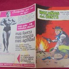 Tebeos: HAZAÑAS DEL OESTE. Nº 209. EDICIONES TORAY. . Lote 60710467