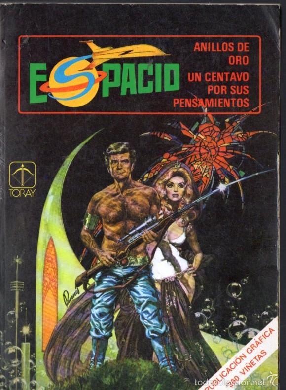 ESPACIO TORAY Nº 5 : ANILLOS DE ORO / UN CENTAVO POR SUS PENSAMIENTOS (Tebeos y Comics - Toray - Otros)