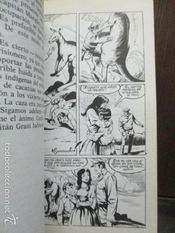 Tebeos: HIJOS DEL CAPITÁN GRANT. JULIO VERNE. BOSCH PENALVA, SOTILLOS, ARMANDO. TORAY NOVELAS FAMOSAS Nº 8 - Foto 6 - 61219719