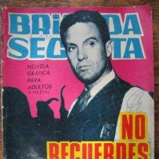 Tebeos: BRIGADA SECRETA - TORAY Nº134. Lote 61327523