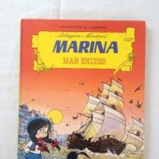 Tebeos: LAS AVENTURAS DE MARINA TITULO: MAR ENDINS EDICIONES TORAY EDICIÓN DE 1987. Lote 61385611