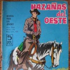 Tebeos: HAZAÑAS DEL OESTE - TORAY - Nº116. Lote 61399251