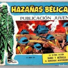 Tebeos: Nº 360 HAZAÑAS BELICAS. SERIE AZUL. EDICIONES TORAY, S.A.. Lote 61721492