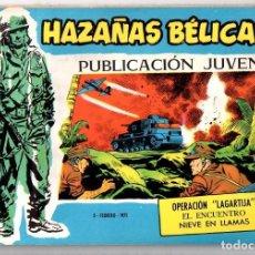Tebeos: Nº 361 HAZAÑAS BELICAS. SERIE AZUL. EDICIONES TORAY, S.A.. Lote 61721560