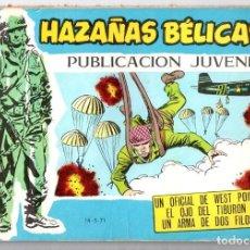 Tebeos: Nº 368 HAZAÑAS BELICAS. SERIE AZUL. EDICIONES TORAY, S.A.. Lote 61721636