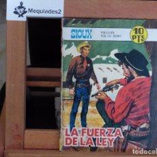 Tebeos: SIOUX Nº 106 LA FUERZA DE LA LEY (R. ORTIGA + C. ENRICH + LONGARÓN) 1968 (COMIC BITONO) MUY DIFÍCIL . Lote 61818616