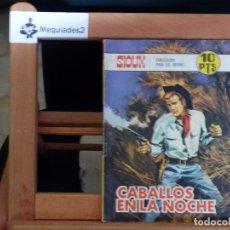 Tebeos: SIOUX Nº 109 CABALLOS EN LA NOCHE (1968 BITONO MUY DIFÍCIL ). Lote 61818924