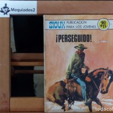 Tebeos: SIOUX Nº 175 ¡PERSEGUIDO! (1970 MUY DIFÍCIL ). Lote 61819120