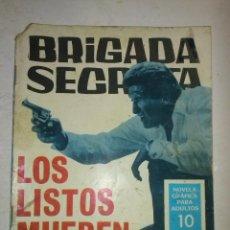 Tebeos: BRIGADA SECRETA - Nº 174 -LOS LISTOS MUEREN DOS VECES-1966-GRAN ALEX SIMMONS-BUENO-DIFÍCIL-9398. Lote 133671038