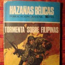 Tebeos: COMIC. TORMENTA SOBRE FILIPINAS. HAZAÑAS BÉLICAS. PUBLICACIÓN JUVENIL. TORAY. Lote 62368324