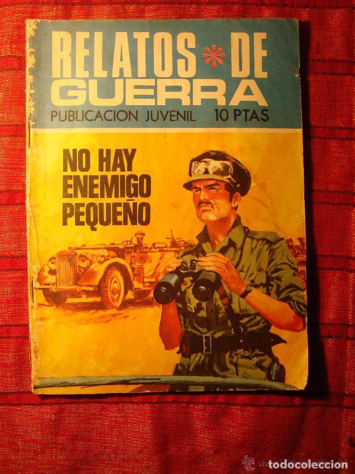 COMIC. RELATOS DE GUERRA. NO HAY ENEMIGO PEQUEÑO. PUBLICACIÓN JUVENIL. TORAY (Tebeos y Comics - Toray - Otros)