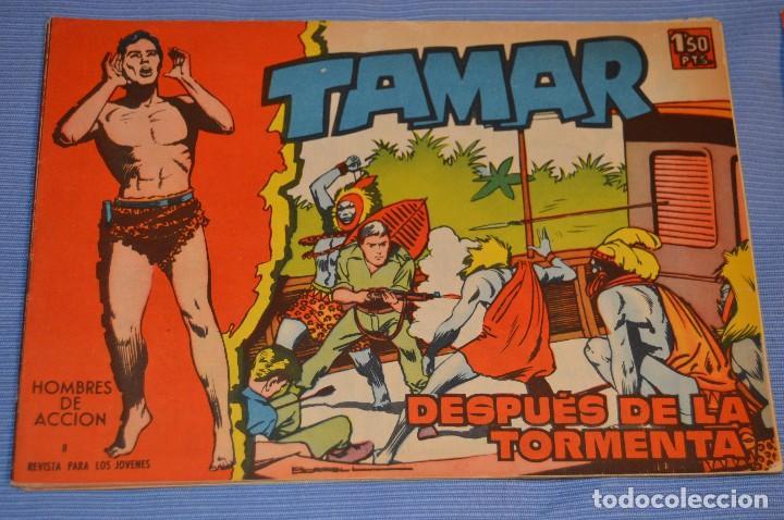 TAMAR - NÚM. 8 - EDITORIAL TORAY - AÑO 1961 - ORIGINAL E IMPECABLE, MUY BUEN ESTADO ¡MIRA! (Tebeos y Comics - Toray - Tamar)