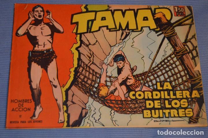 TAMAR - NÚM. 12 - EDITORIAL TORAY - AÑO 1961 - ORIGINAL E IMPECABLE, MUY BUEN ESTADO ¡MIRA! (Tebeos y Comics - Toray - Tamar)