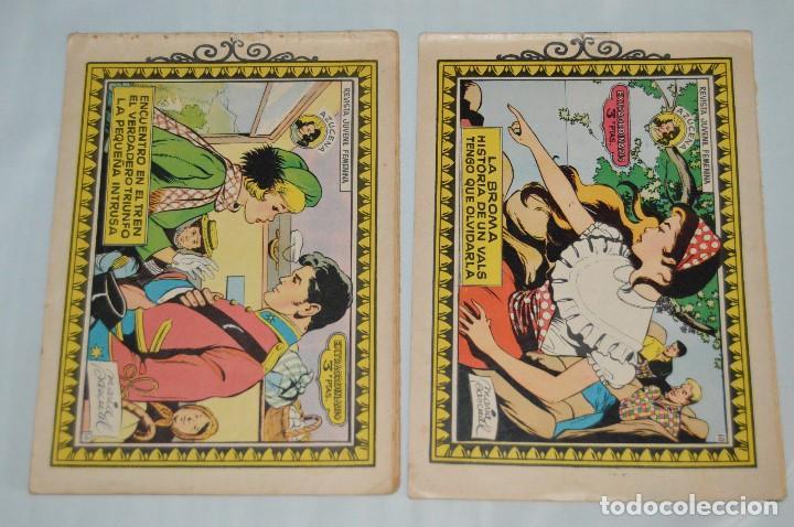 LOTE 2 EJEMPLARES EXTRAORDINARIOS AZUCENA - TORAY - Nº 56 Y 60 - MUY ANTIGUOS, AÑOS 60 - MEJOR VER (Tebeos y Comics - Toray - Azucena)