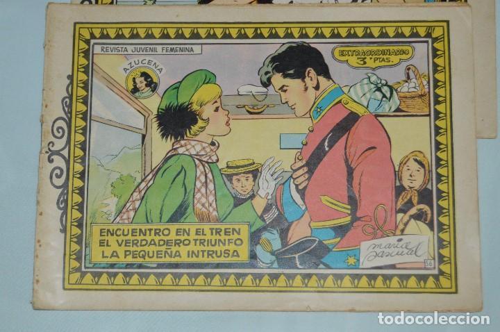 Tebeos: LOTE 2 EJEMPLARES EXTRAORDINARIOS AZUCENA - TORAY - Nº 56 Y 60 - MUY ANTIGUOS, AÑOS 60 - MEJOR VER - Foto 3 - 63131404