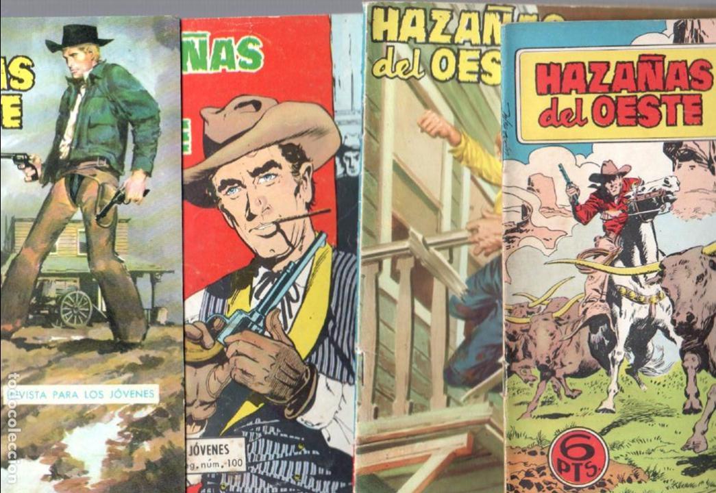HAZAÑAS DEL OESTE NºS- 2,13,14,25,29,47,48,54, -JORGE BUXADE,DE LA FUENTE,LUIS RAMOS,L.ESPÍ, (Tebeos y Comics - Toray - Hazañas del Oeste)