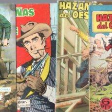 Tebeos: HAZAÑAS DEL OESTE NºS- 2,13,14,25,29,47,48,54, -JORGE BUXADE,DE LA FUENTE,LUIS RAMOS,L.ESPÍ,. Lote 63347628