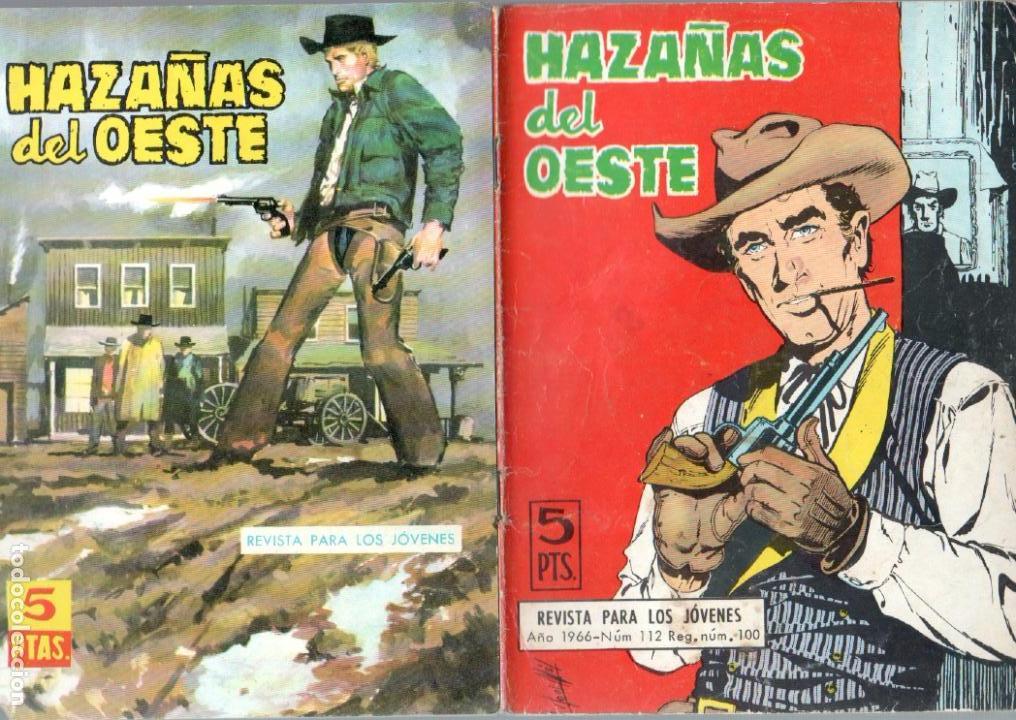 Tebeos: HAZAÑAS DEL OESTE NºS- 2,13,14,25,29,47,48,54, -JORGE BUXADE,DE LA FUENTE,LUIS RAMOS,L.ESPÍ, - Foto 3 - 63347628