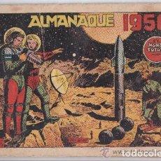 Tebeos: MUNDO FUTURO ALMANAQUE 1956 + 6 NUMEROS ORIGINALES. Lote 63393740