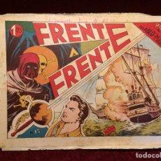Tebeos: EL HIJO DE DIABLO DE LOS MARES – FRENTE A FRENTE – Nº 18 – EDICIONES TORAY – ORIGINAL. Lote 63558696