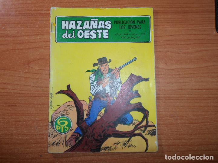 HAZAÑAS DEL OESTE Nº 196 EDITORIAL TORAY (Tebeos y Comics - Toray - Hazañas del Oeste)