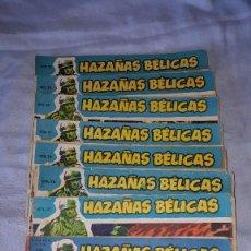 Tebeos: LOTE HAZAÑAS BELICAS AZUL - Nº 12--25--27--29-30. Lote 107829616