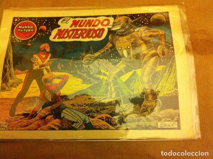 EL MUNDO MISTERIOSO-Nº.36 (Tebeos y Comics - Toray - Mundo Futuro)
