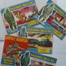 Tebeos: HAZAÑAS BÉLICAS. 5 EJEMPLARES. Lote 64518423