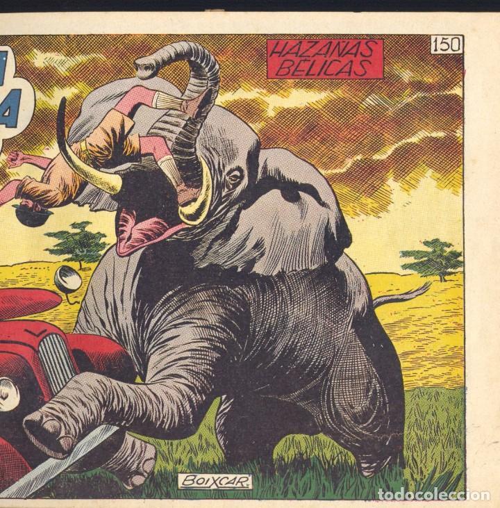 31 EJEMPLARES HAZAÑAS BÉLICAS (2ª ÉPOCA) ENCUADERNADOS EN UN TOMO. TORAY, AÑOS 50. ORIGINALES (Tebeos y Comics - Toray - Hazañas Bélicas)