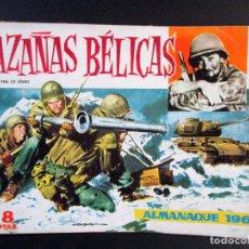 Tebeos: HAZAÑAS BÉLICAS ALMANAQUE 1960 , ED. TORAY - DT124. Lote 65246067