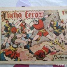 Tebeos: FLECHA NEGRA Nº 15 ANTIGUO. Lote 65402815