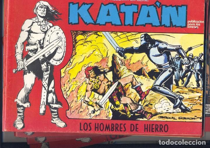 KATAN. COLECCIÓN COMPLETA DE LA EDITORIAL URSUS. 10 EJEMPLARES. AUTOR: BROCAL REMOHI (Tebeos y Comics - Toray - Katan)