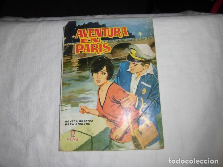 AVENTURA EN PARIS.CARMEN IGLESIAS/JOSE NEBOT.EDICIONES TORAY.-1966 (Tebeos y Comics - Toray - Otros)