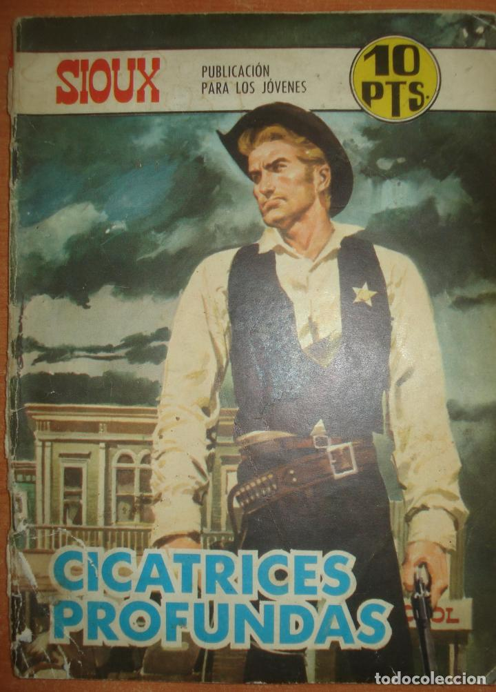 SIOUX. CICATRICES PROFUNDAS. Nº 123. EDICIONES TORAY. AÑO 1965. (Tebeos y Comics - Toray - Sioux)