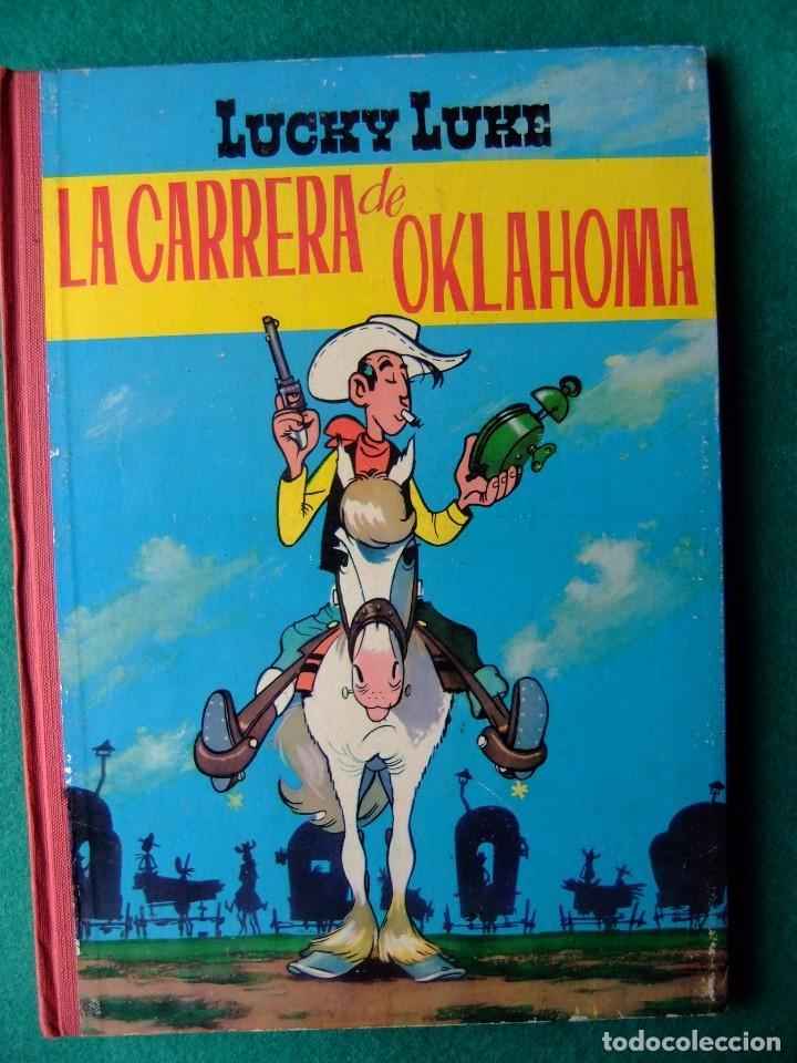 LUCKY LUKE LA CARRERA DE OKLAHOMA EDICIONES TORAY 1964 (Tebeos y Comics - Toray - Otros)