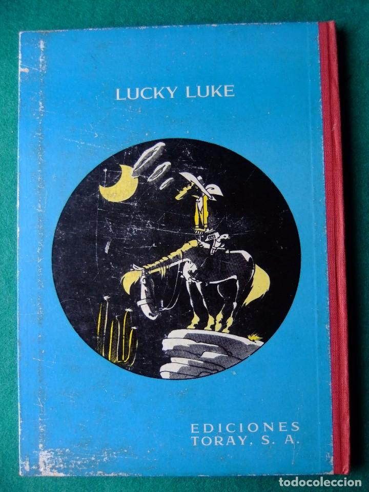 Tebeos: LUCKY LUKE LA CARRERA DE OKLAHOMA EDICIONES TORAY 1964 - Foto 2 - 66011394