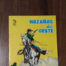 Tebeos: HAZAÑAS DEL OESTE, 126 1966. MUY BUEN ESTADO. Lote 66792510