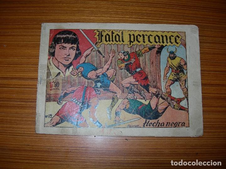 FLECHA NEGRA Nº 12 EDITATORAY (Tebeos y Comics - Toray - Flecha Negra)