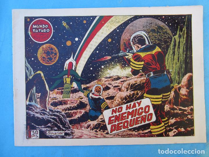 EL MUNDO FUTURO , NUMERO 21 , NO HAY ENEMIGO PEQUEÑO , BOIXCAR , TORAY (Tebeos y Comics - Toray - Mundo Futuro)