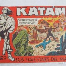 Tebeos: COMIC KATAN Nº 46, TORAY, 1958, LOS HALCONES DEL MAR. Lote 67195525