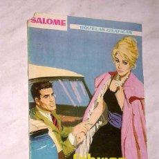 Tebeos: FABRICA DE SUEÑOS. NOVELAS GRÁFICAS SALOMÉ Nº 30. EDICIONES TORAY 1962. FARIÑAS, BUDESCA. SAL MINEO.. Lote 67663589