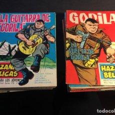 Tebeos: GORILA HAZAÑAS BELICAS EXTRA LOTE 22 EJEMPLARES MUY BUEN ESTADO (TORAY) (COIB1512). Lote 67709389