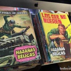 Tebeos: HAZAÑAS BELICAS LOTE 99 EJEMPLARES CON LOS 50 PRIMEROS (TORAY) (COIB152). Lote 67710293