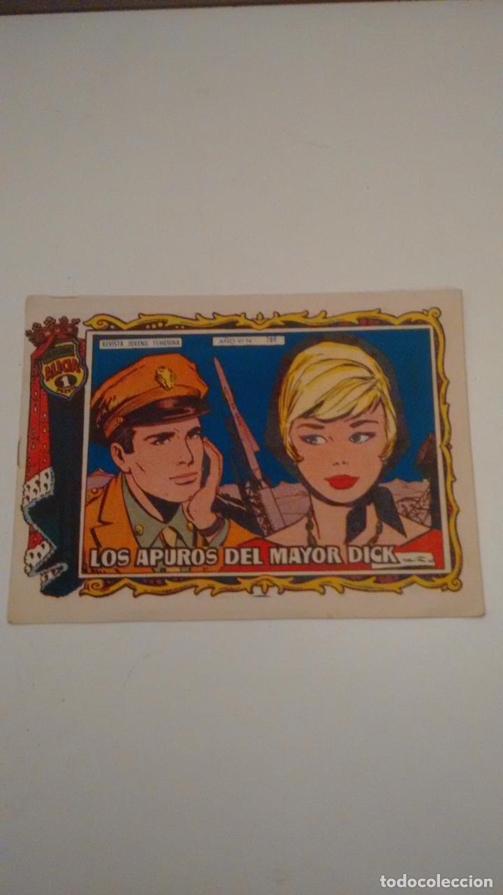 ALICIA Nº 289. LOS APUROS DEL MAYOR DICK. TORAY 1960 (Tebeos y Comics - Toray - Alicia)