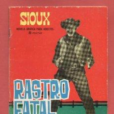 Tebeos: SIOUX - RASTRO FATAL - NOVELA GRAFICA PARA ADULTOS EDICIONES TORAY, S.A. 48 PAGINAS AÑOE 1965*. Lote 67928441