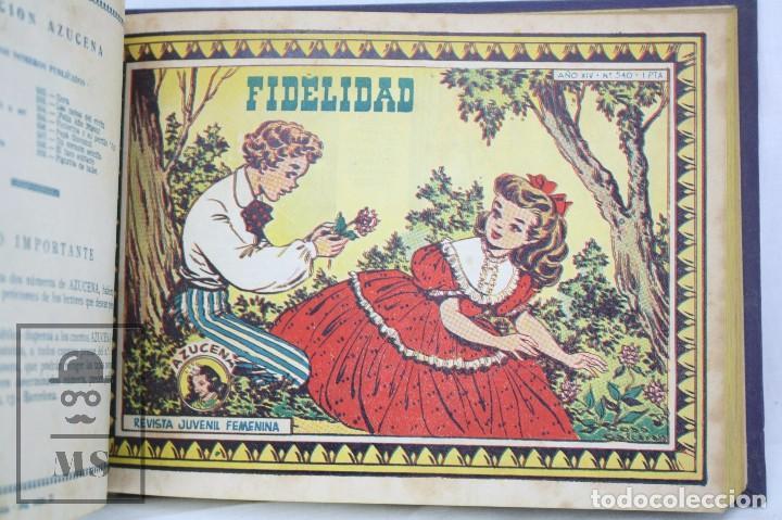 Tebeos: Volumen con 26 Cómics Colección Azucena - El Fruto del Trabajo - Ed. Toray, Años 50 - Foto 2 - 68199277