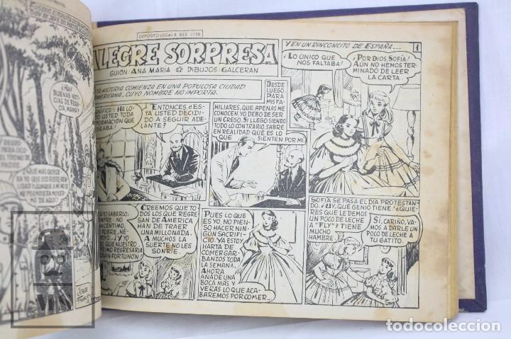 Tebeos: Volumen con 26 Cómics Colección Azucena - El Fruto del Trabajo - Ed. Toray, Años 50 - Foto 3 - 68199277