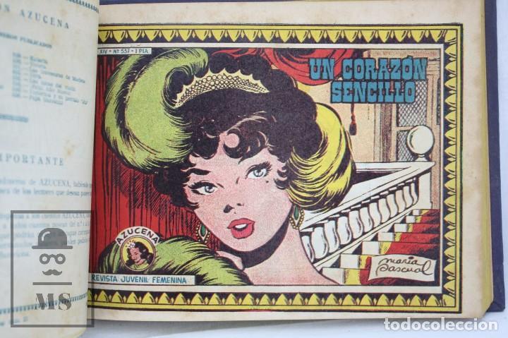 Tebeos: Volumen con 26 Cómics Colección Azucena - El Fruto del Trabajo - Ed. Toray, Años 50 - Foto 4 - 68199277