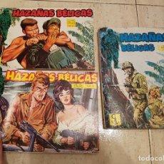 Tebeos: LOTE COMIC HAZAÑAS BELICAS G4 EDICIONES TORAY TOMO1 (1-2-3-4) TOMO 2 (5-6-7-8) EXTRA 1. Lote 69064085